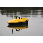 Лодка за захранка DEVICT SMONO Baitboat Lemon Yellow