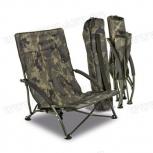 Шаранджийски стол SOLAR UNDERCOVER CAMO FOLDABLE EASY CHAIR-LOW