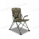 Шаранджийски стол SOLAR UNDERCOVER CAMO FOLDABLE EASY CHAIR-HIGH