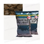 Пелети Dynamite Baits Marine Halibut Pre Drilled Pellets пробити пелети
