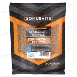 Пелети Sonubaits Stiki Chocolate Orange Method Pellets 2mm
