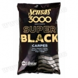 Захранка Sensas 3000 Super Black Carpes